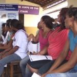 Famílias beneficiárias do Programa Água para Todos no município de Estrela de Alagoas