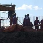 Canteiros de obras espalhados em todo o Estado têm ajudado a abrir novas vagas de trabalho