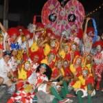 Bairro de Jaraguá é o palco da folia nesta sexta-feira