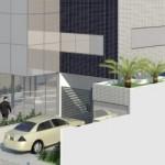 Projeto de construção do novo prédio do Itec