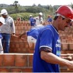 Setor da construção civil ainda continua acelerado