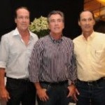 Ricardo, Aluísio e Celso constituem o tripé da marca nelore IBC