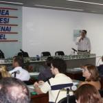 Sandro Valeri, gerente de Gestão e Conhecimento da Embraer, proferiu palestra 'Gerindo a Inovação', na Casa da Indústria