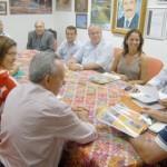 Senador Benedito de Lira e deputado Carimbão apresentam ao prefeito e secretariado o volume de recursos obtidos em Brasília