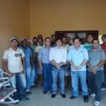 Diretoria da CPLA em reunião com pequenos produtores rurais de Paulo Jacinto