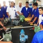 Governador destaca a construção da unidade industrial voltada para formação de novos profissionais