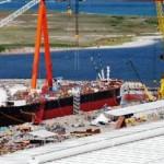 Construção de estaleiro (foto meramente ilustrativa) vai alavancar a economia alagoana