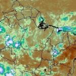 Satélite mostra céu limpo no Nordeste brasileiro