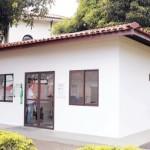 Casa de PVC construída ecologicamente correta