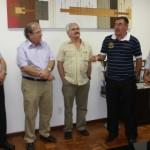 Engenheiros sergianos visitam o prefeito Cícero Almeida e o secretário Mosart Amaral
