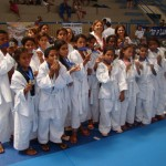 Estudantes atletas de judô participam do Festival Alagoano de Faixa Branca