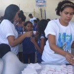 Estudantes comemoram o Dia Mundial do Leite