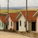 Novas residências para os moradores do campo