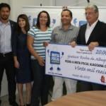 Governador Teotonio Vilela entrega cheque simbólico a ganhadores da NFA