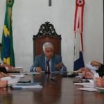 Vice-governador preside reunião sobre o Fecoep, no Palácio da República dos Palmares