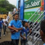 Caminhão escola do Luz do Saber vai até aos estudantes