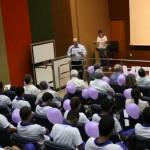Presidente da Fiea, José Carlos Lyra, diz emocionado que o ViraVida abre novos horizontes para os jovens