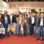 Diretoria da CPLA, técnicos e produtores rurais na Expomaq, em Minas Gerais
