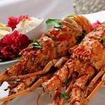 Deliciosos pratos de lagosta serão oferecidos ao público durante o Festival