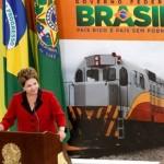 Presidente Dilma Roussef durante anúncio do Plano Nacional de Logística em Brasília
