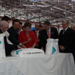 Presidente Dilma Roussef deixa seu recado para melhorar os indicadores da educação antes de imprimir sua assinatura no pacote de PVC 'made in Alagoas'