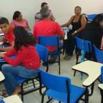 Fátima é aluna do curso de Auxiliar Administrativo por meio do Programa Senac de Gratuidade