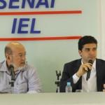 Presidente José Carlos Lyra recepcionou e fez questionamentos a respeito das propostas do candidato Rui Palmeira para o empresariado maceioense