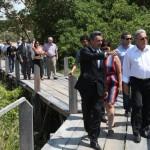 Governador Teotonio Vilela Filho, secretários e superintendente de Turismo visitam as obras do Hotel Magia Resort