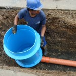 Poços de visita de polietileno cada vez mais recomendados em obras de saneamento