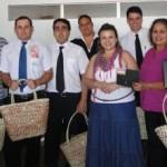 Recepcionistas recebem premiação