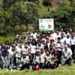 Estudantes realizam plantio de mudas nativas na Reserva Particular de Patrimônio Natural Mutum de Alagoas