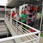 Secretário Geraldo Câmara visita Shopping Popular