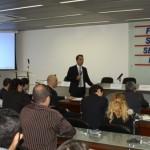 Diretor da Innext Brazil Paul Renda profere palestra para empresários alagoanos e assina convênio de abertura de escritório