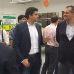 Prefeito Rui Palmeira conversa com o presidente Belmiro Gomes sobre o empreendimento Assaí Atacadista