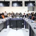 Secretário Luiz Otávio Gomes realiza reunião no Estado com a missão do Banco Inteamericano do Desenvolvimento