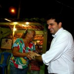 População parabeniza o prefeito Rui Palmeira pela nova iluminação nos bairros