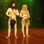 Romeu, Adão e Eva, no Cine Sesi Pajuçara
