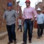 Prefeito Rui Palmeira e secretário Mac Lira visitam empreendimento imobiliário