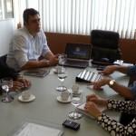 Gerente de Unidade Misturadora da Yara, esteve na Seplandes, conhecendo as possibilidades de negócios em Alagoas