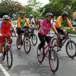 Passeio ciclístico pelas ruas de Maceió