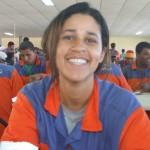 Sueli Sales destaca-se como soldadora no consórcio Tomé-Ferrostaal
