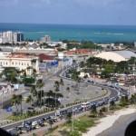 Bairro de Jaraguá com a bela vista da praia da Pajuçara