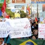 Manifestações afetaram o desempenho do comércio varejista