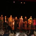 Desfile de abertura da Semana da Moda ,no Teatro Deodoro