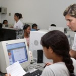 Telecentro é um serviço para os moradores do bairro do Prado