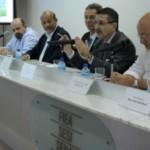 Secretários Luiz Otávio Gomes, Eduardo Setton e Sexta-Feira apresentam investimentos para 2014 aos empresários na Casa da Indústria