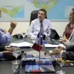 Empresários apresentam projeto de instaleiro ao secretário Luiz Otávio Gomes