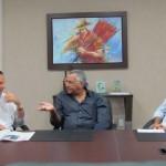 Presidente da Algás Geoberto Espírito Santo falou sobre o projeto em conversa com o presidente do Fecomércio Wilton Malta