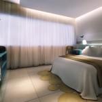 Apartamentos modernos e espaçosos do Acqua Suítes