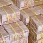 Valor é correspondente a 'uma montanha de dinheiro'
